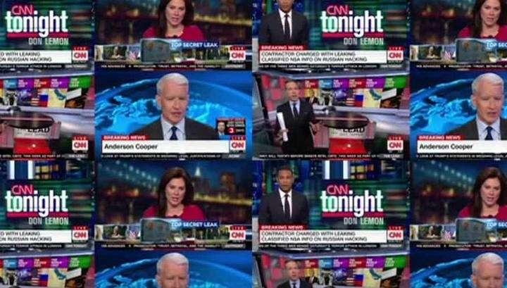 Американский журналист продолжает выводить на чистую воду двуличных сотрудников CNN