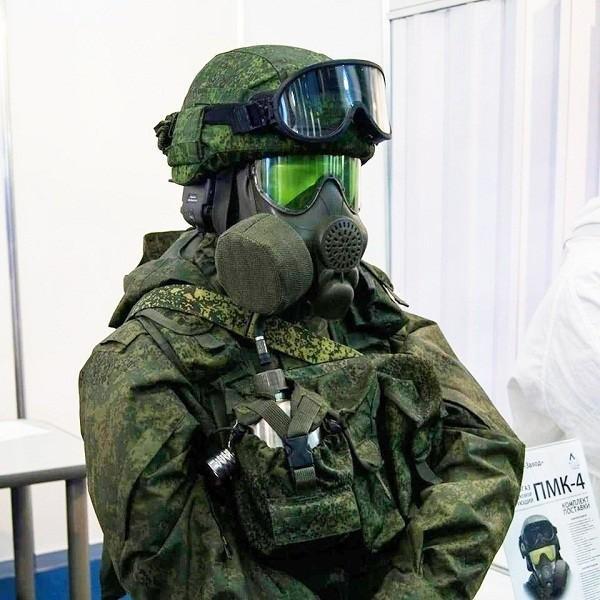 Экипировка «Ратник-2» пополнилась новым противогазом ПМК-4