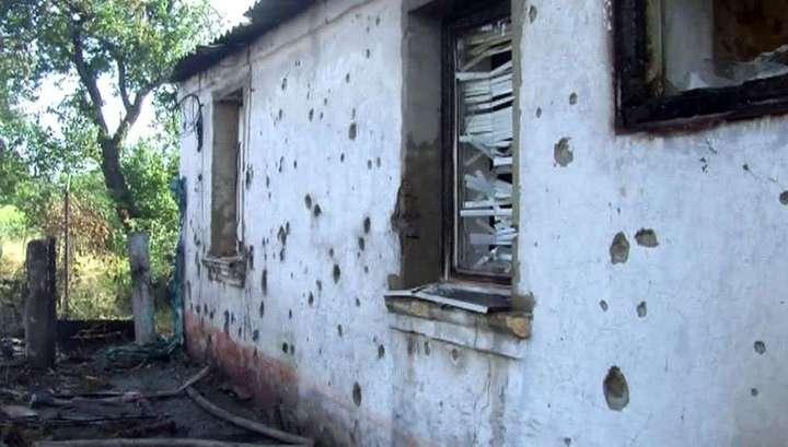 Украинские террористы снова обстреливают Донецк и Луганск