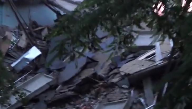 Следователи рассматривают две основные версии обрушения здания университета в Донецке