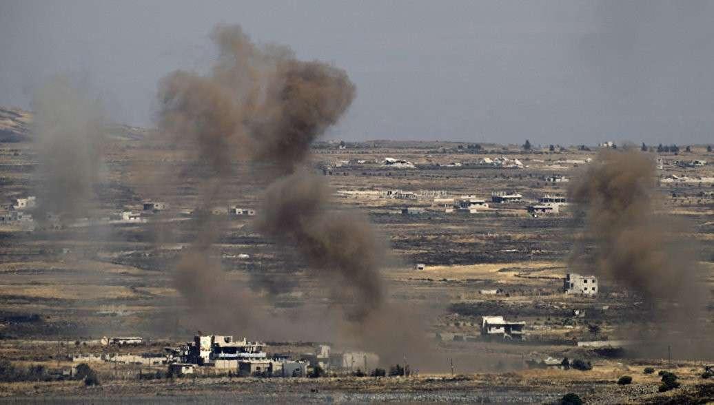 ВВС Израиля очередной раз поддержали огнём своих наёмных террористов из ИГИЛ