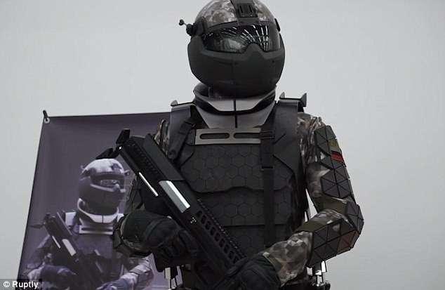 Россия представила следующее поколение боевой экипировки из