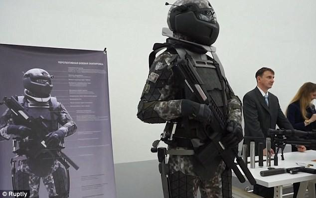 В России представили следующее поколение боевой экипировки солдата из «Звёздных Войн»