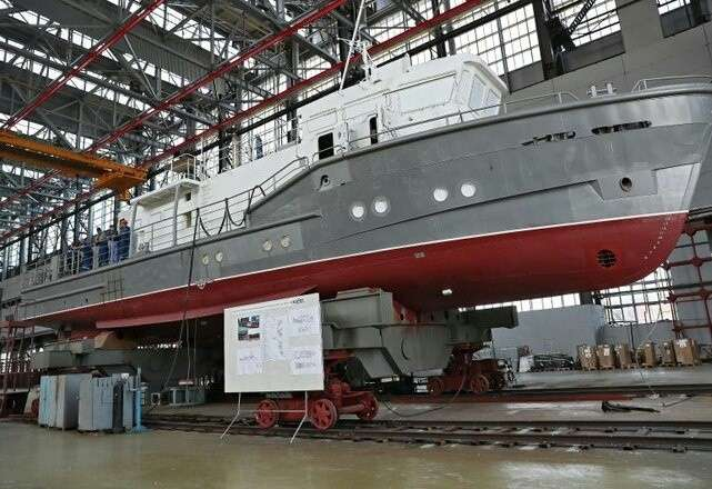 Завод «Море» вФеодосии сегодня