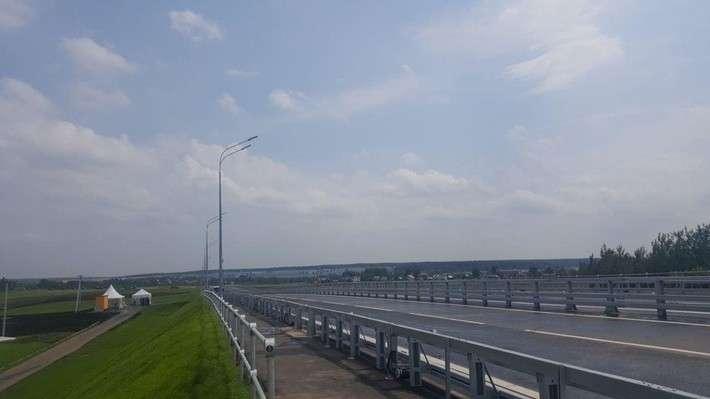 Запущено движение попутепроводу впоселке Кокошкино Новой Москвы