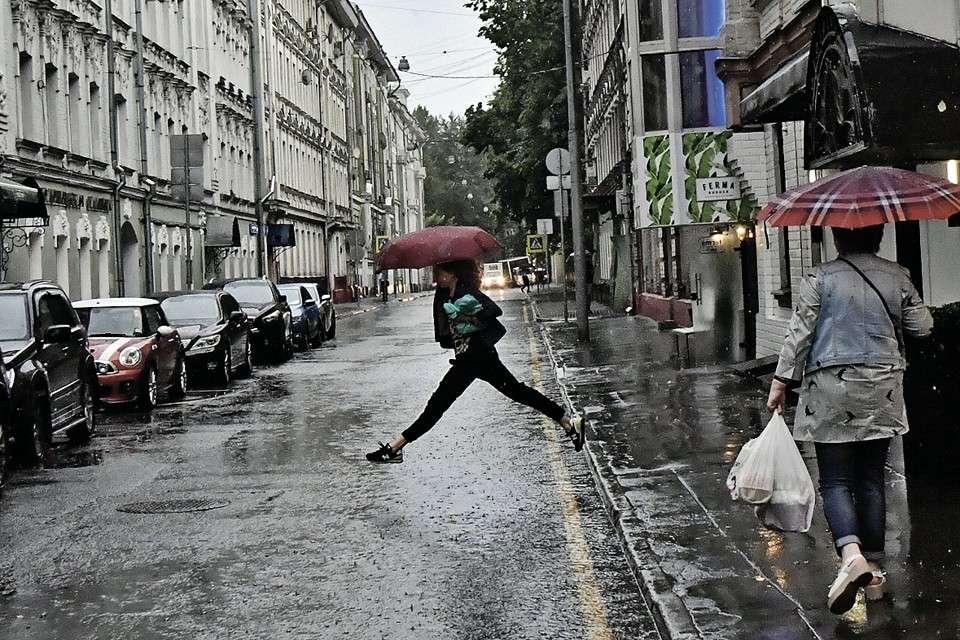 В Москве потоп продлится ещё неделю