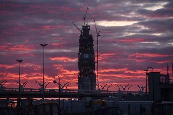 «Газпром» приступил к строительству второй части многофункционального комплекса «Лахта центр»