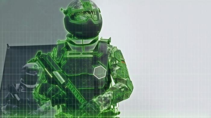 В Москве показали новейшую экипировку российских военных в недалёком будущем