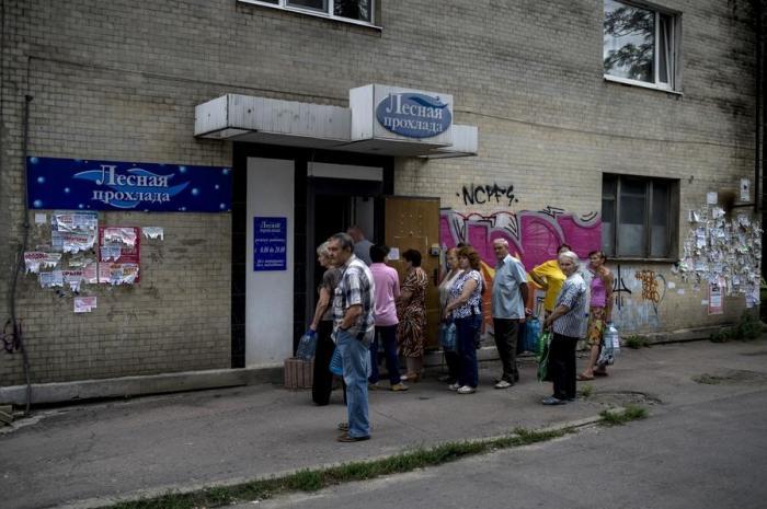 Донецк следом за Луганском остался практически без питьевой воды