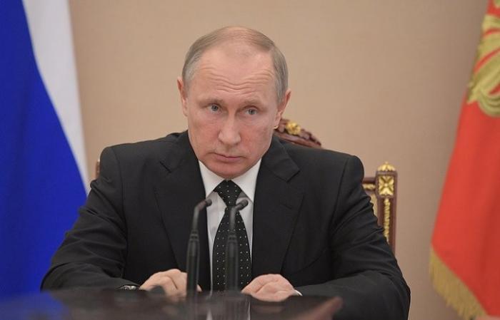 """Путин подписал закон """"О внесении изменения закона «О военном положении»"""