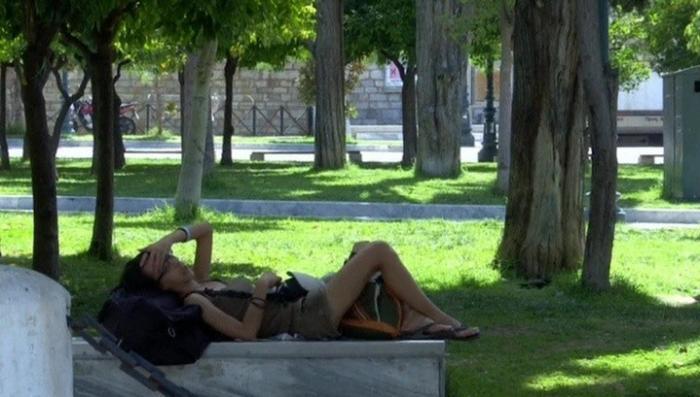 В Греции аномальная жара поставила рекорд 45,9 градуса в тени