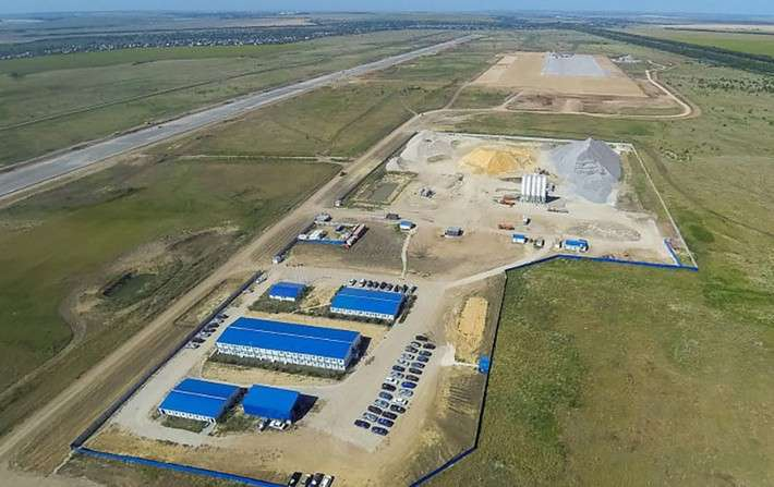 Вновом аэропорту Саратова началось строительство аэровокзального комплекса