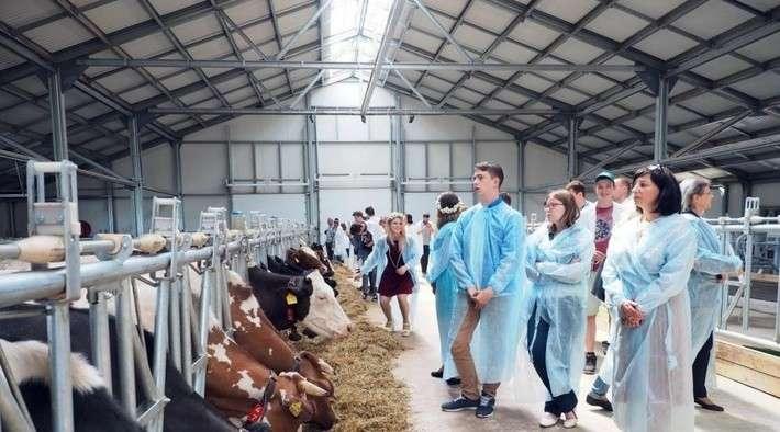 ВКалужской области открыли 31-ю роботизированную ферму