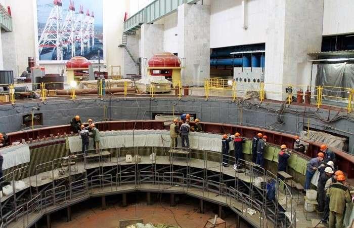 После масштабной реконструкции наЧебоксарской ГЭС ввели вэксплуатацию гидроагрегат №