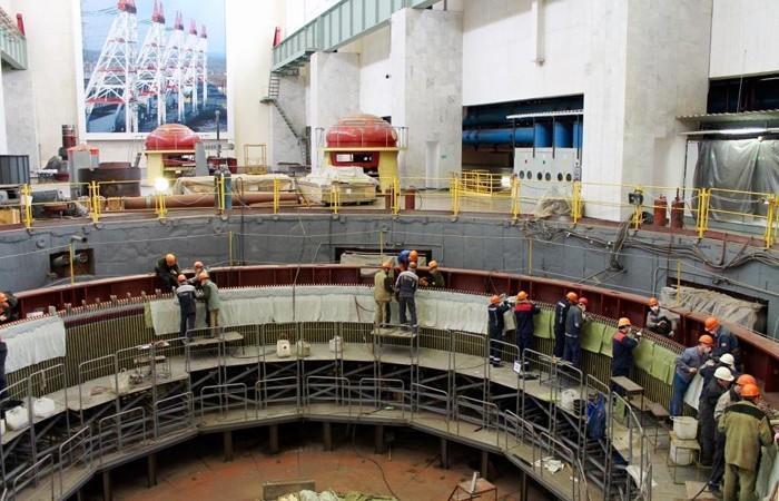 На Чебоксарской ГЭС после масштабной реконструкции ввели вэксплуатацию гидроагрегат №17