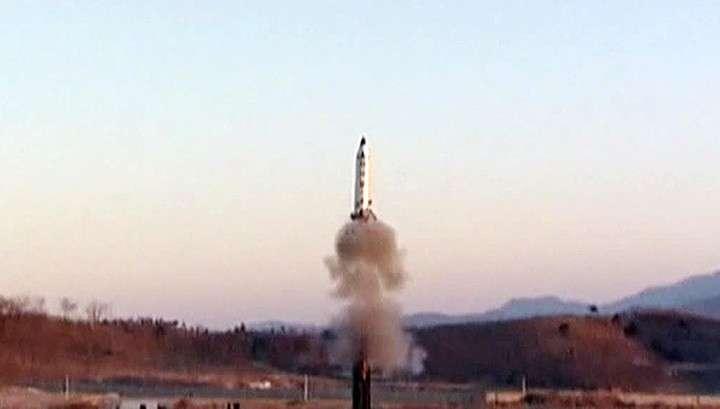 КНДР осуществила новый пуск баллистической ракеты в сторону Японского моря