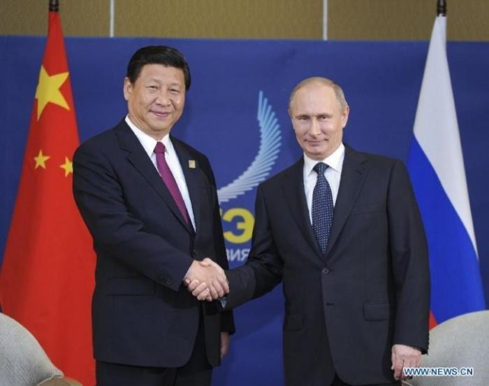 Путин вручит Си Цзиньпину орден Святого Андрея Первозванного