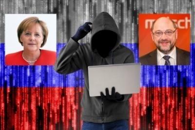 В Германии высмеяли паранойю о «русских хакерах»: зачем атаковать тупых Меркель и Шульца