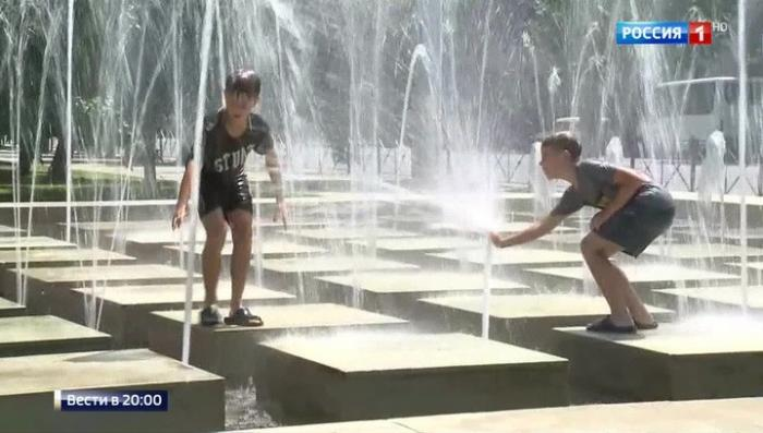 Юг России изнывает от жары, на термометре Плюс 40 и выше