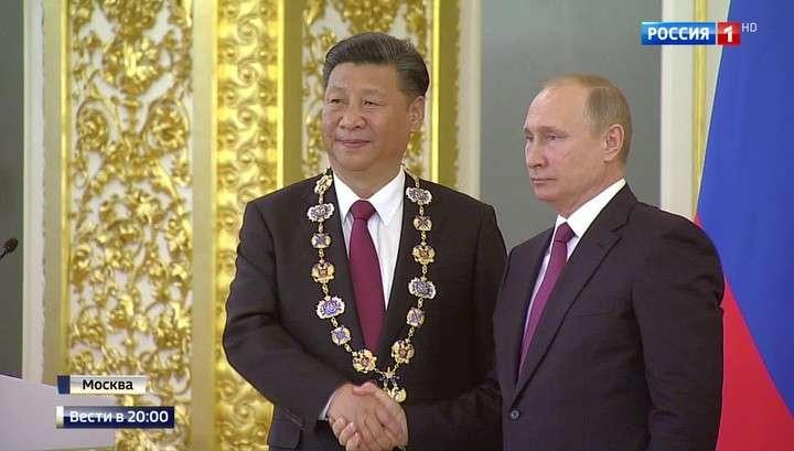 Россия и Китай вышли на новый беспрецедентно высокий уровень отношений