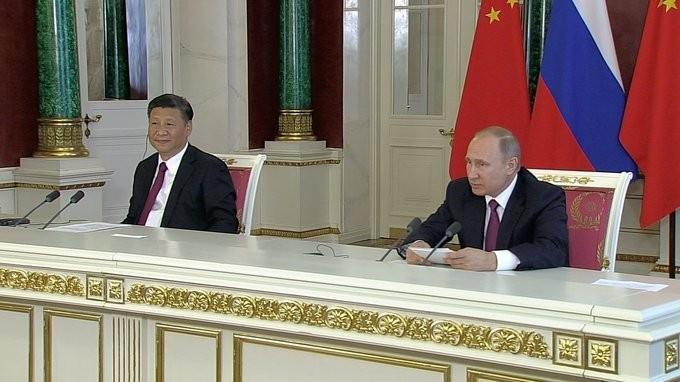 Заявления президентов для прессы поитогам российско-китайских переговоров