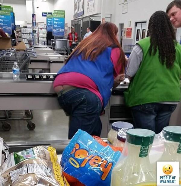 Деградирующая Америка. Как выглядят очумевшие покупатели американских супермаркетов
