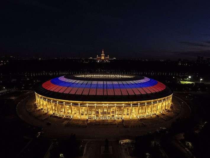 Стадион «Лужники» после реконструкции