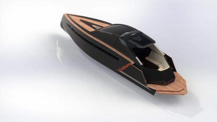 Новый российский катер«RS I-ONE» производства петербургской компании «Русское море»