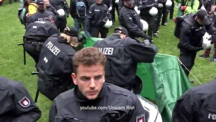 Полиция в преддверии саммита G20 ждёт провокации со стороны антиглобалистов и радикалов