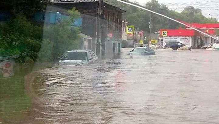 В Нижнем Новгороде наступил всемирный потоп