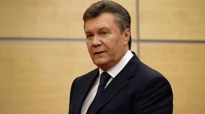 Витя Янукович не хочет участвовать в судебном процессе над собой