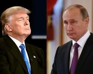 Владимир Путин и Дональд Трамп впервые пожали руки