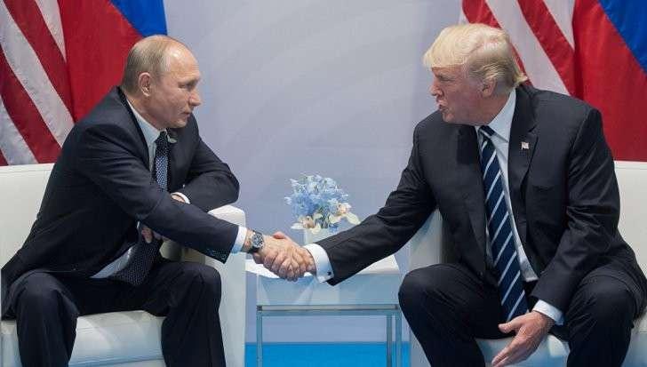 В Гамбурге прошла первая встреча Владимира Путина и Дональда Трампа