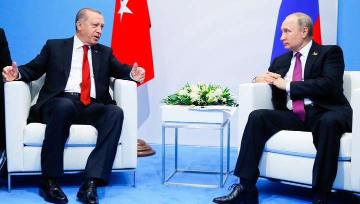 Путин и Эрдоган обсудили Сирию и