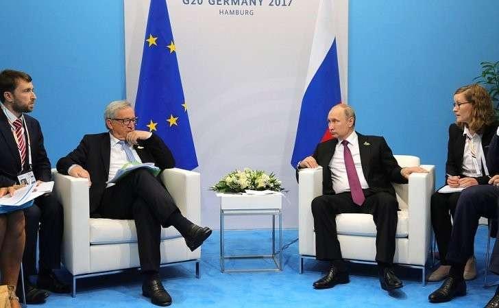 Встреча сПредседателем Европейской комиссии Жан-Клодом Юнкером.