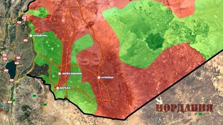 Сирия: Россия, США и Иордания создают зону безопасности, Израиль против