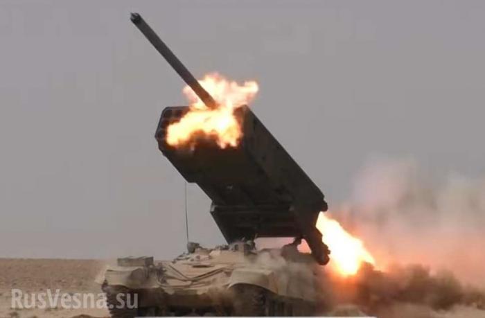 ВКС России и Армия Сирии разгромили оборону противника на высотах у осаждённого Дейр Зора