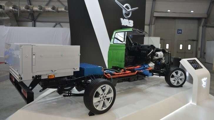 «УАЗ» начнет выпускать автомобили с гибридной силовой установкой