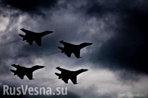 ВКС РФ становятся ночным кошмаром дляИГИЛ в Дейр эз-Зор, громя базы и объекты боевиков | Русская весна
