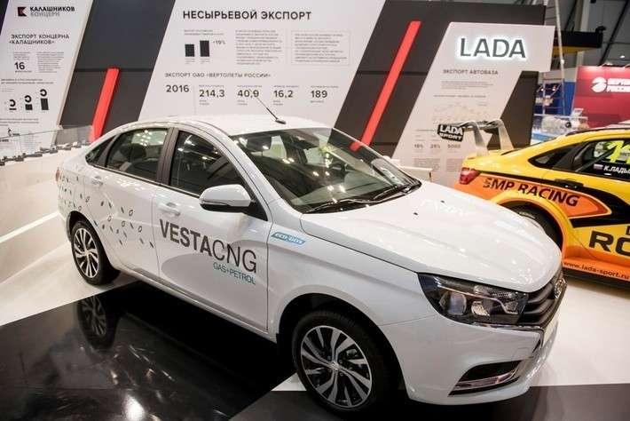 «АвтоВАЗ» запустил продажи новой Lada Vesta нагазе