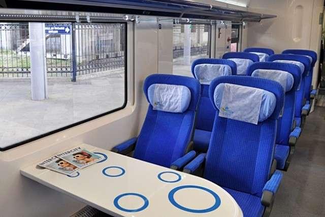Пассажирский поезд «Укрзализници»