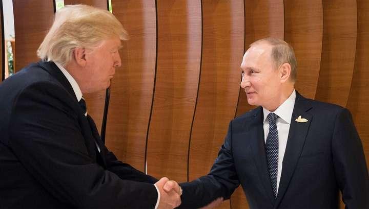 Трамп признался, что очень хорошо поладил с Путиным