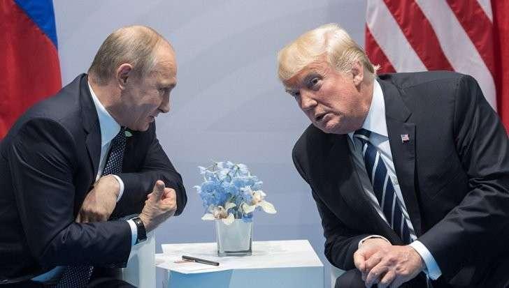 Дональд Трамп: в разговоре с Владимиром Путиным был очень жестким