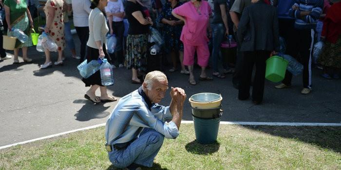 Миллион жителей Донбасса остались без воды