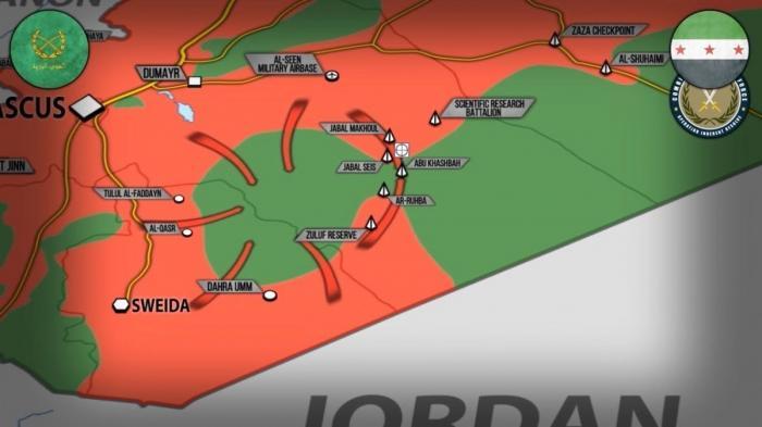 Сирия: террористы США под угрозой окружения правительственной армией
