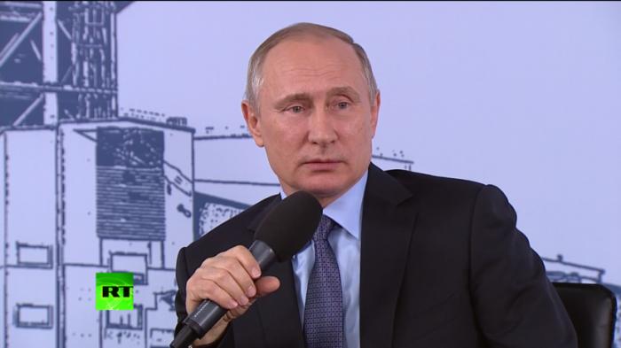 Владимир Путин рассказал о фильме Оливера Стоуна