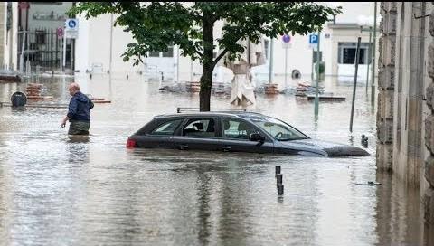 На Германию после аномальной жары обрушились аномальные дожди