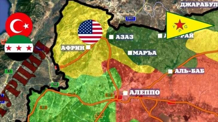 Сирия: Курды отклонили помощь России и сразу получили удар Турции