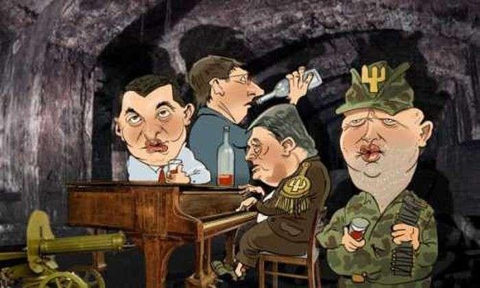 Не падайте в соус, поручик Луценко. Корнет Порошенко, не пейте вина!