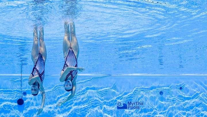 В Будапеште российские синхронистки завоевали золото чемпионата мира